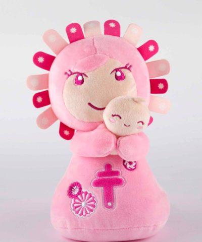 peluche Pilarín rosa