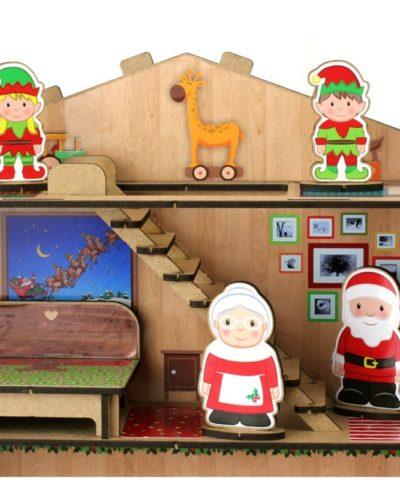 Casita de Papá Noel detalle