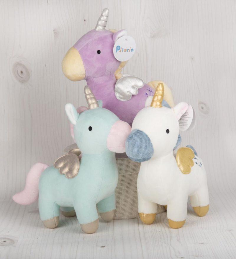 unicornio lila blanco turquesa 2 Pilarín
