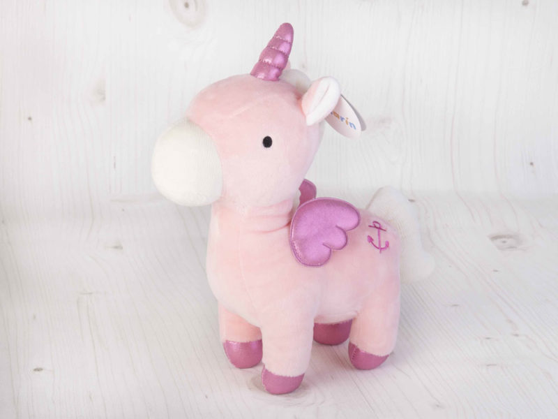 unicornio rosa Pilarín