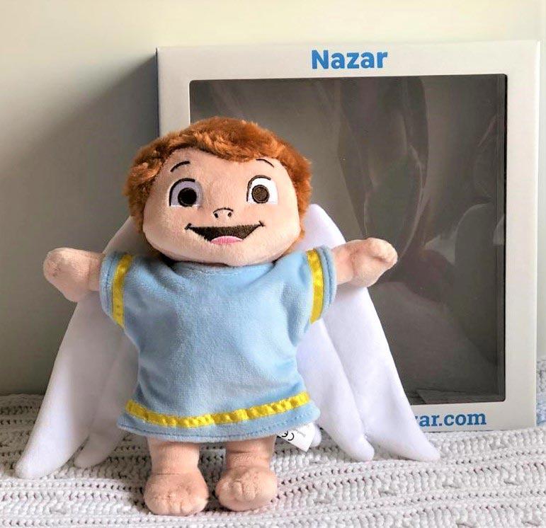 Peluche Ángel Nazar 2